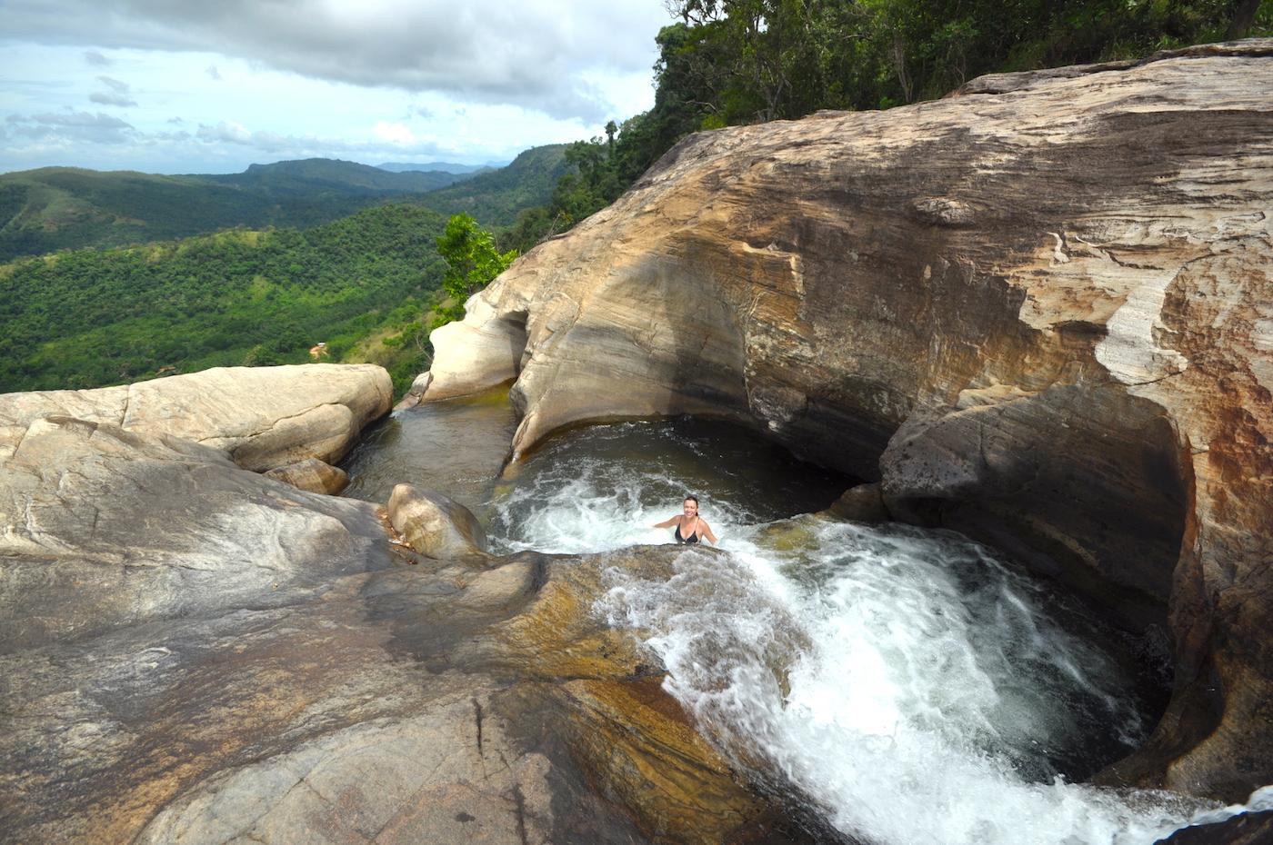 Diyaluma falls, Sri Lanka. Foto: David Mattatia