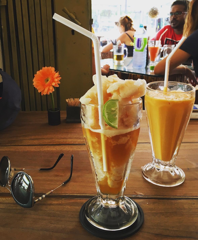Home-made Ceylon Ice Tea, Cafe Chill @ Ella. Foto: Patti Neves