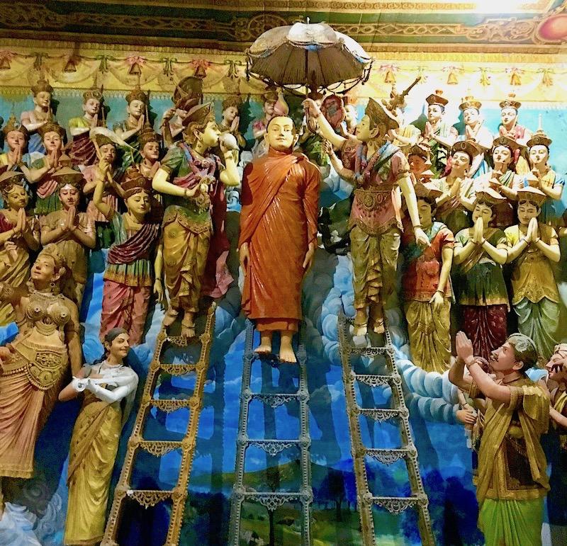Angurukaramulla templo, Sri Lanka. Foto: Patti Neves