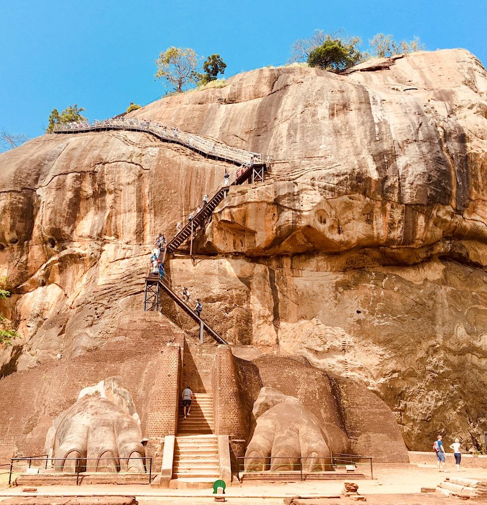 Sigiriya (UNESCO). A maior atração turística do Sri Lanka. Foto: Patti Neves