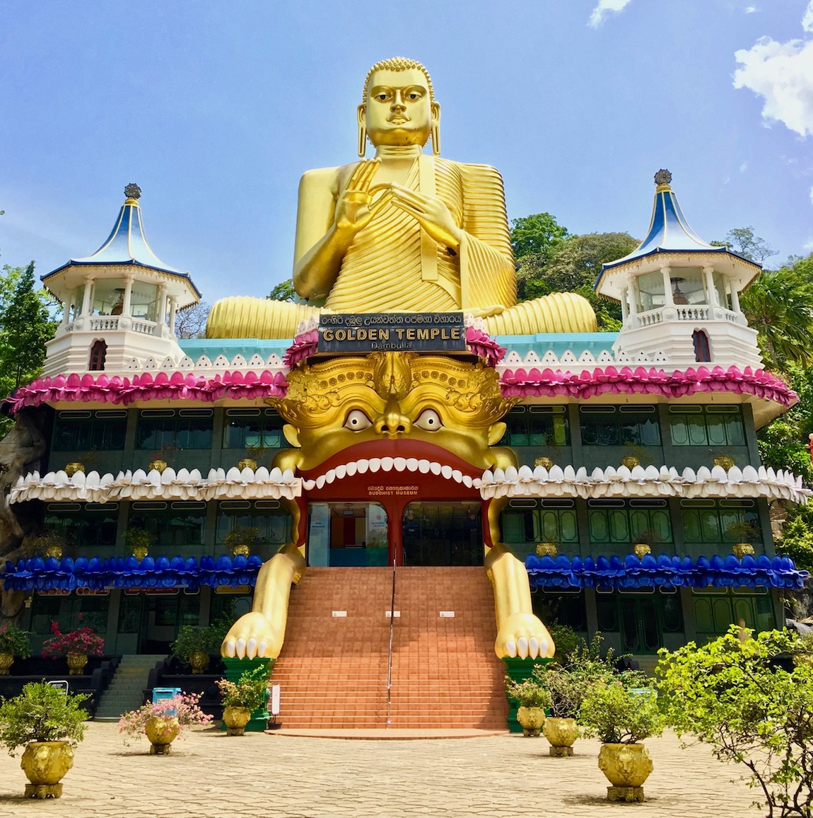 Golden Temple em Dambulla, Sri Lanka. Foto: Patti Neves