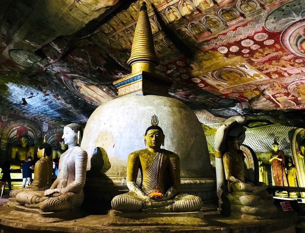 Dambulla Cave Temple, Sri Lanka. Foto: Patti Neves