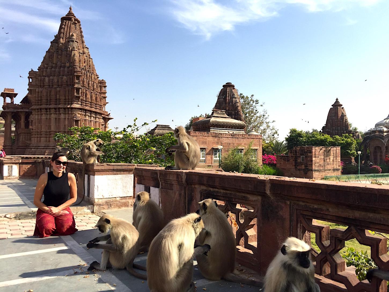 Fazendo novos amigos na Índia. Foto: David Mattatia