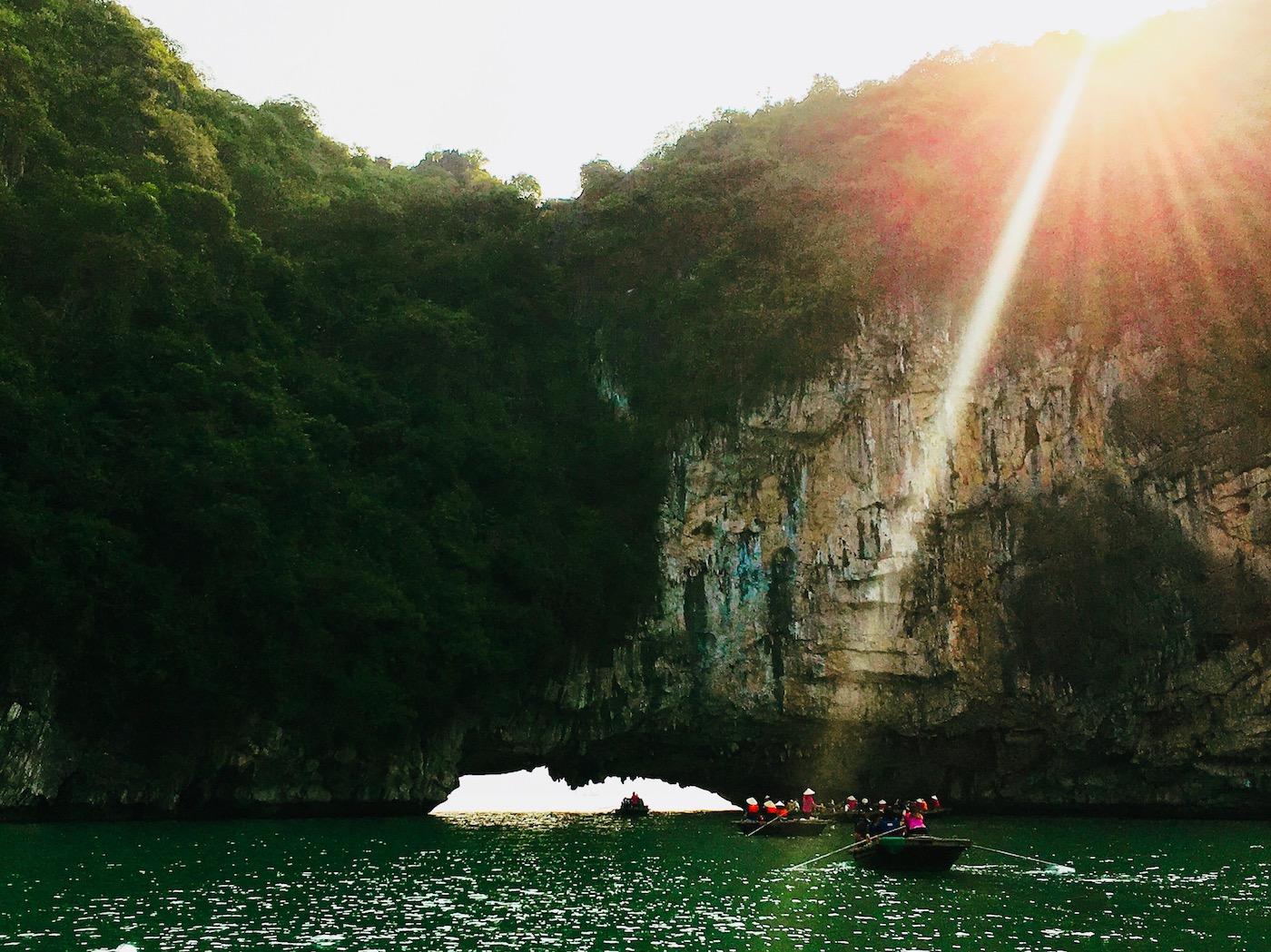 Passeio de fim de tarde, Indochina Junk. Foto: Patti Neves