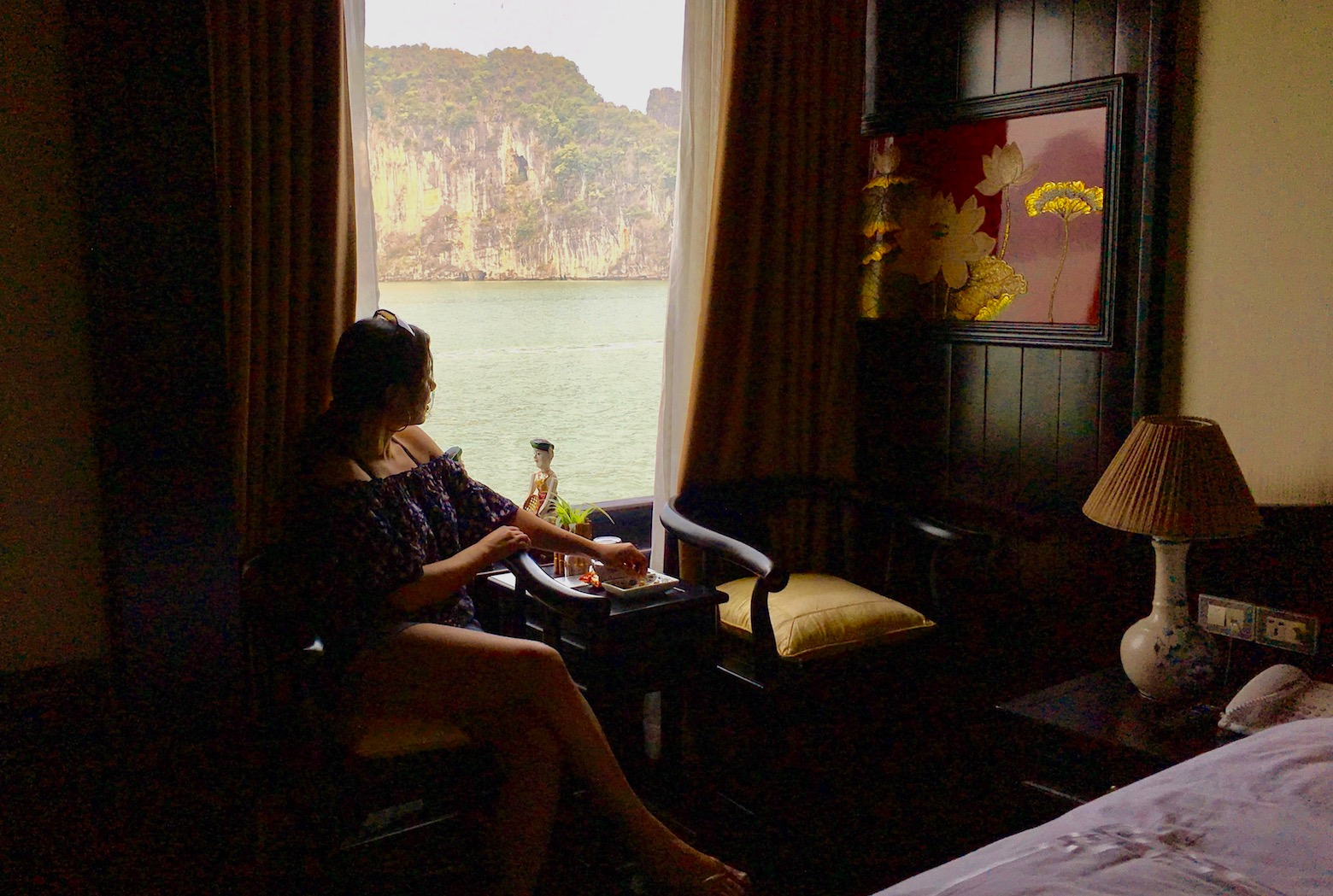 Dragon Legend Cruise | Cruzeiro em Halong Bay no Vietnã | Foto: David Mattatia