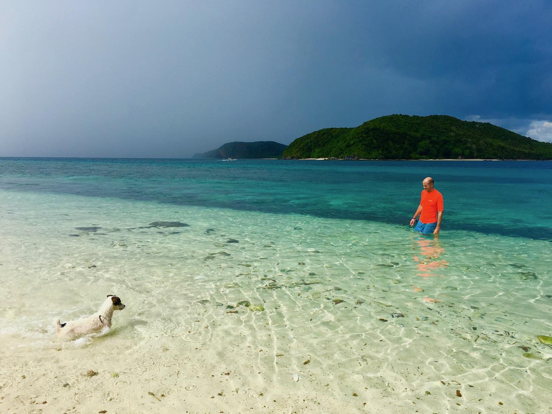 Ngey Ngey camp site, Palawan, Filipinas. Foto: Patti Neves