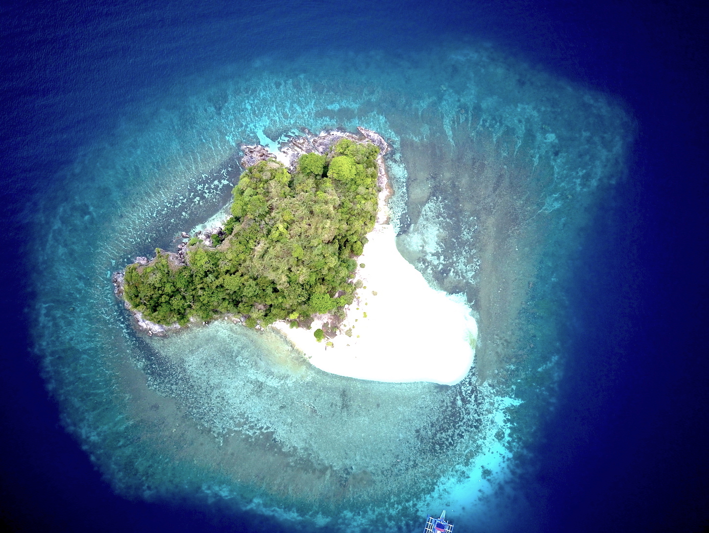 Ilha desconhecida, Palawan, Filipinas. Foto: Patti Neves
