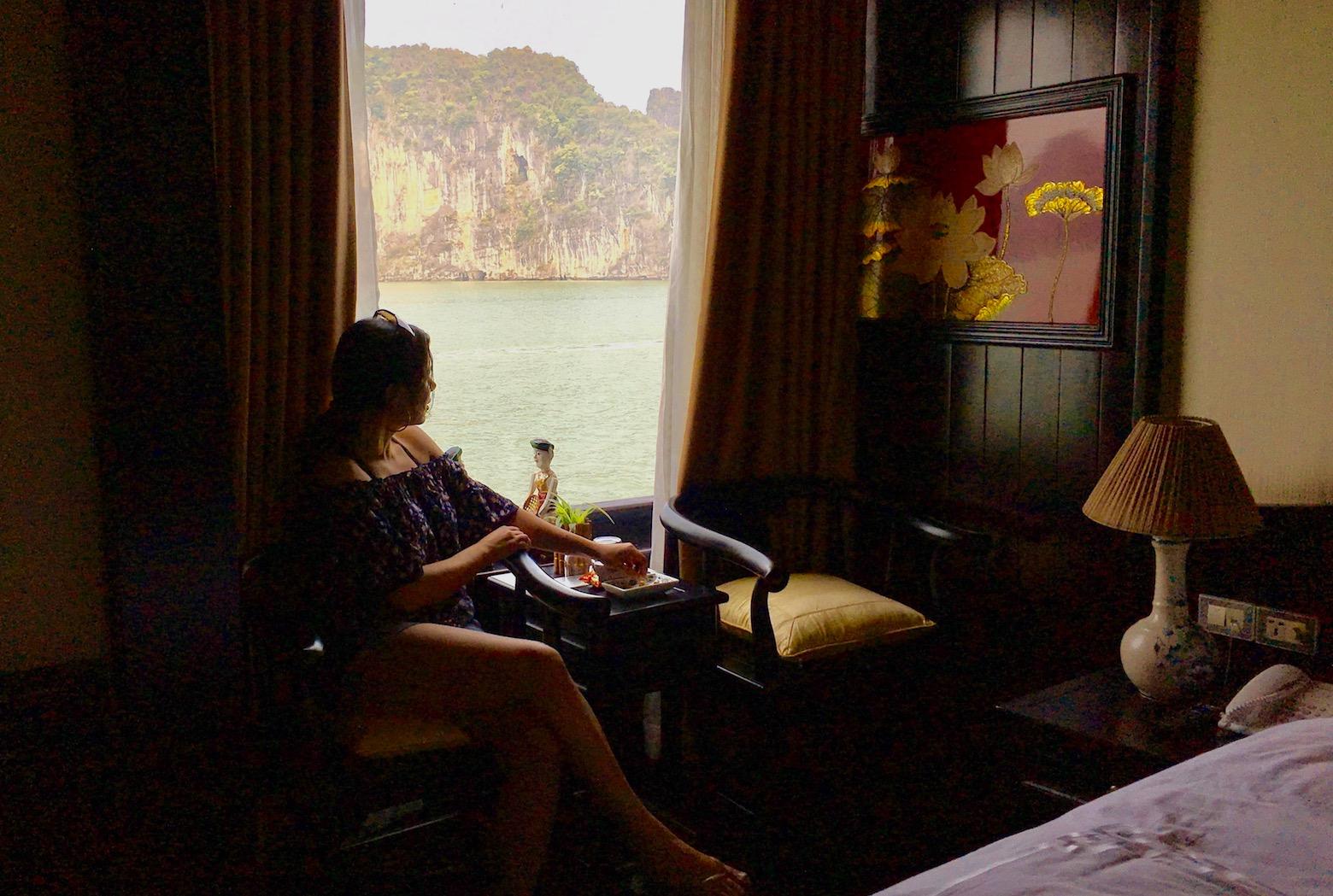 Dragon Legend Cruise, Bai Tu Long, Vietnam. Photo: David Mattatia