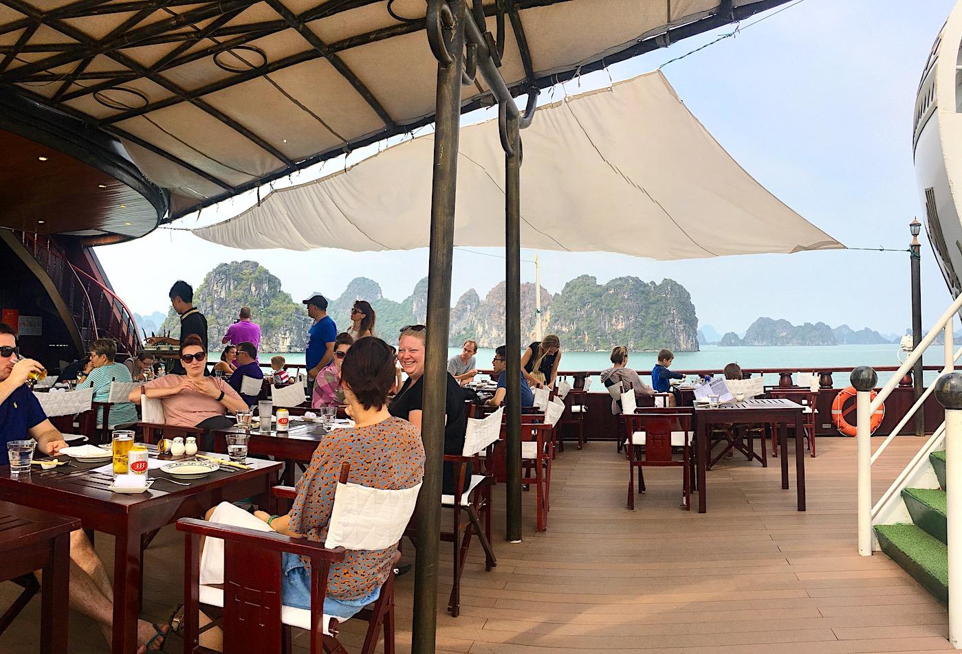 Dragon Legend Cruise, Bai Tu Long, Vietnam. Photo: Patti Neves