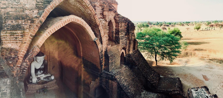 Pya-Tha-Da-Paya temple, Bagan. Foto: Patti Neves