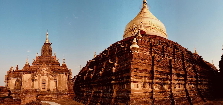 Templos em Bagan, Myanmar. Foto: Patti Neves