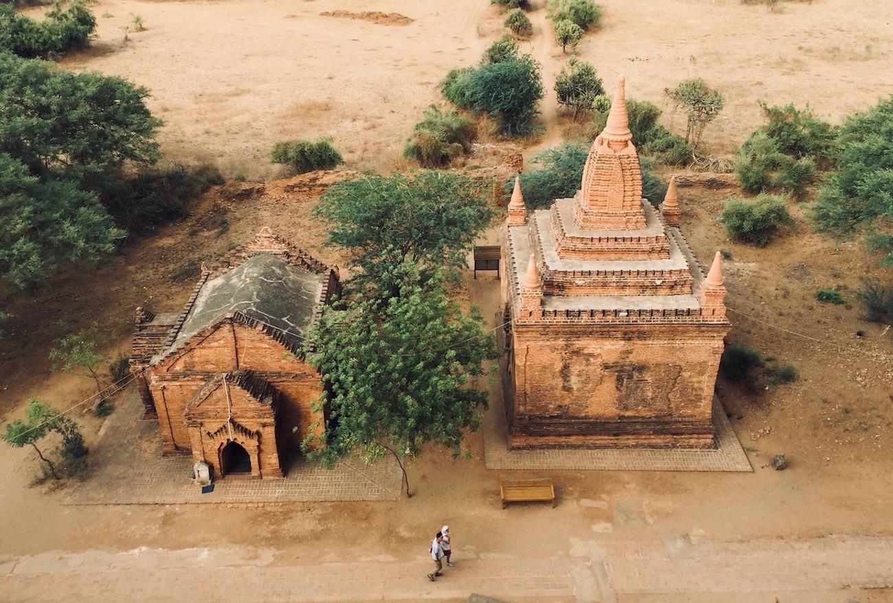 Templos sem nome em Bagan. Foto: Patti Neves
