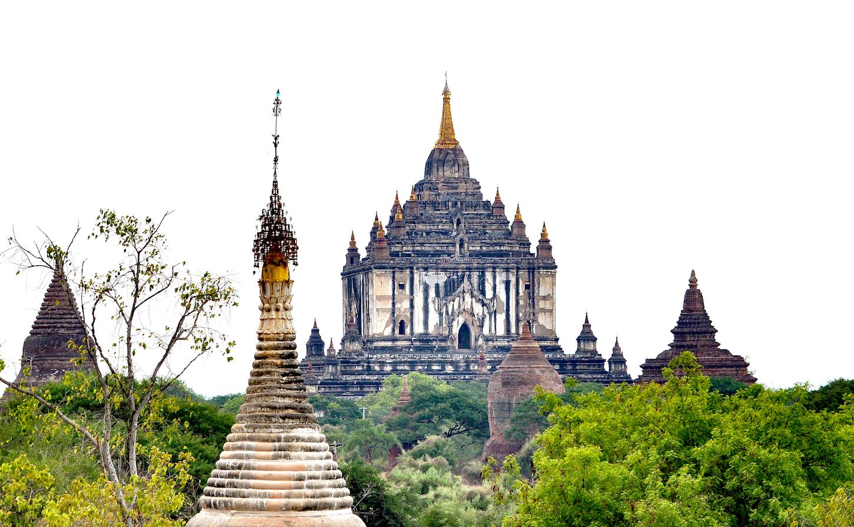 Thatbyinnyu, o templo mais vistoso de Bagan. Foto: Patti Neves