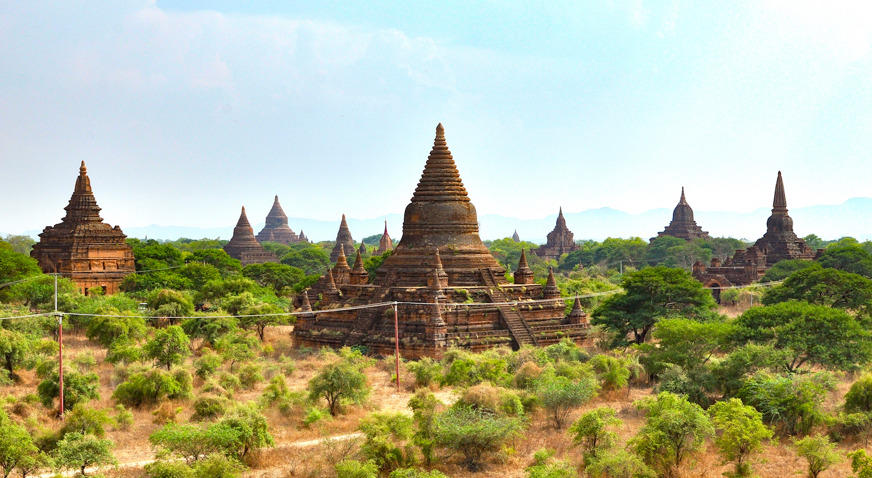 Templos desconhecidos em Bagan. Foto: Patti Neves