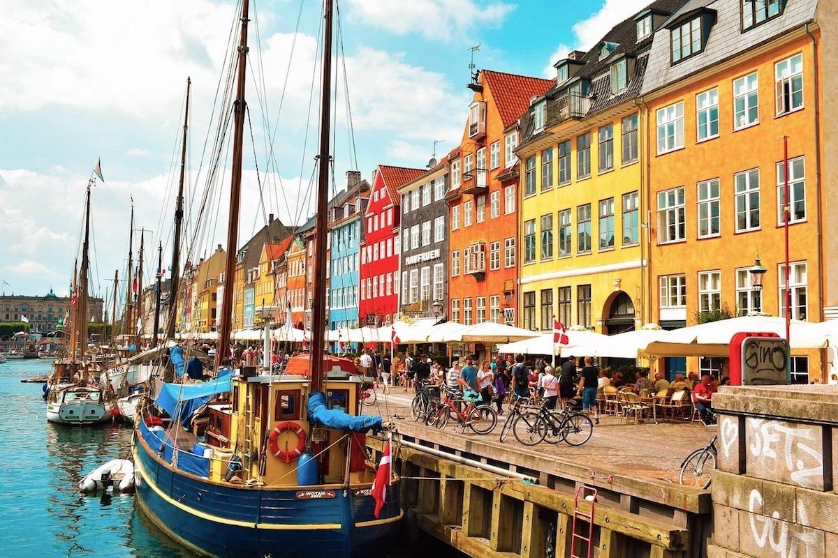 Uma vista clássica de Copenhague. Foto: Pixabay