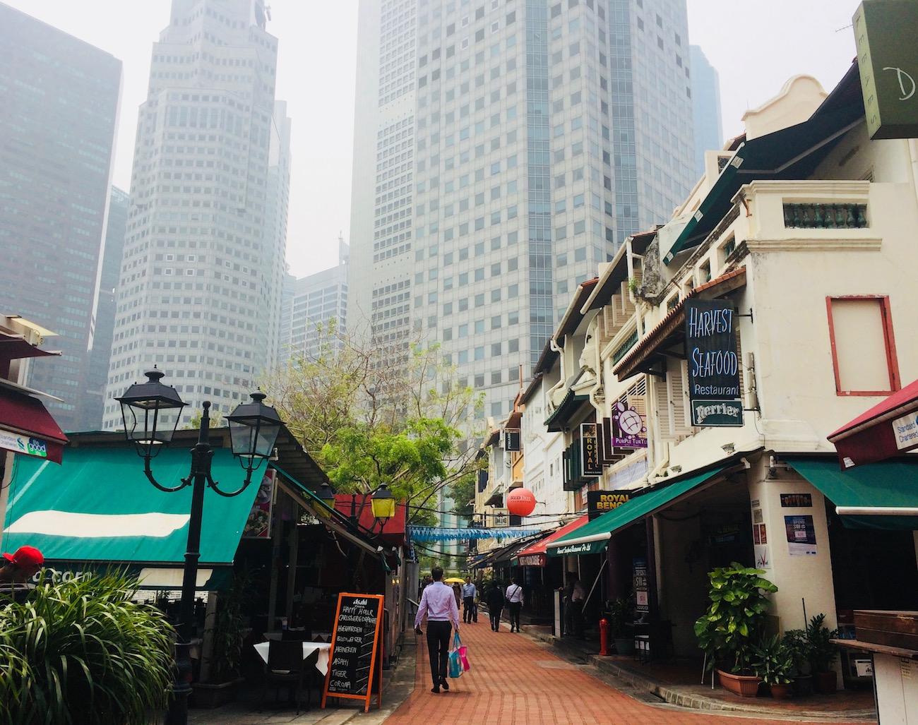 Segunda-feira em Singapura. Foto: Patti Neves