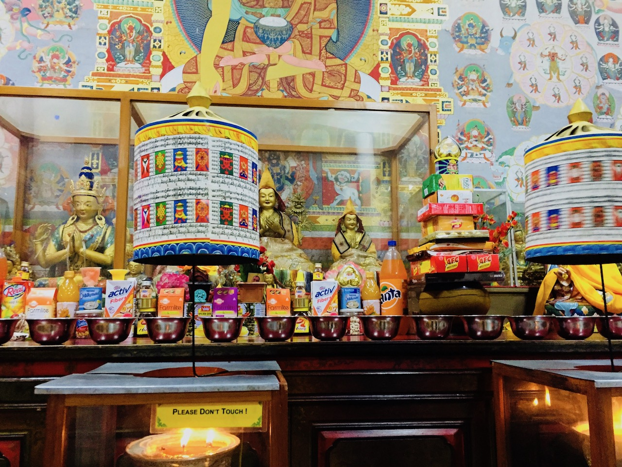 Tsug la Khang, O templo de Dalai Lama. Foto: Patti Neves
