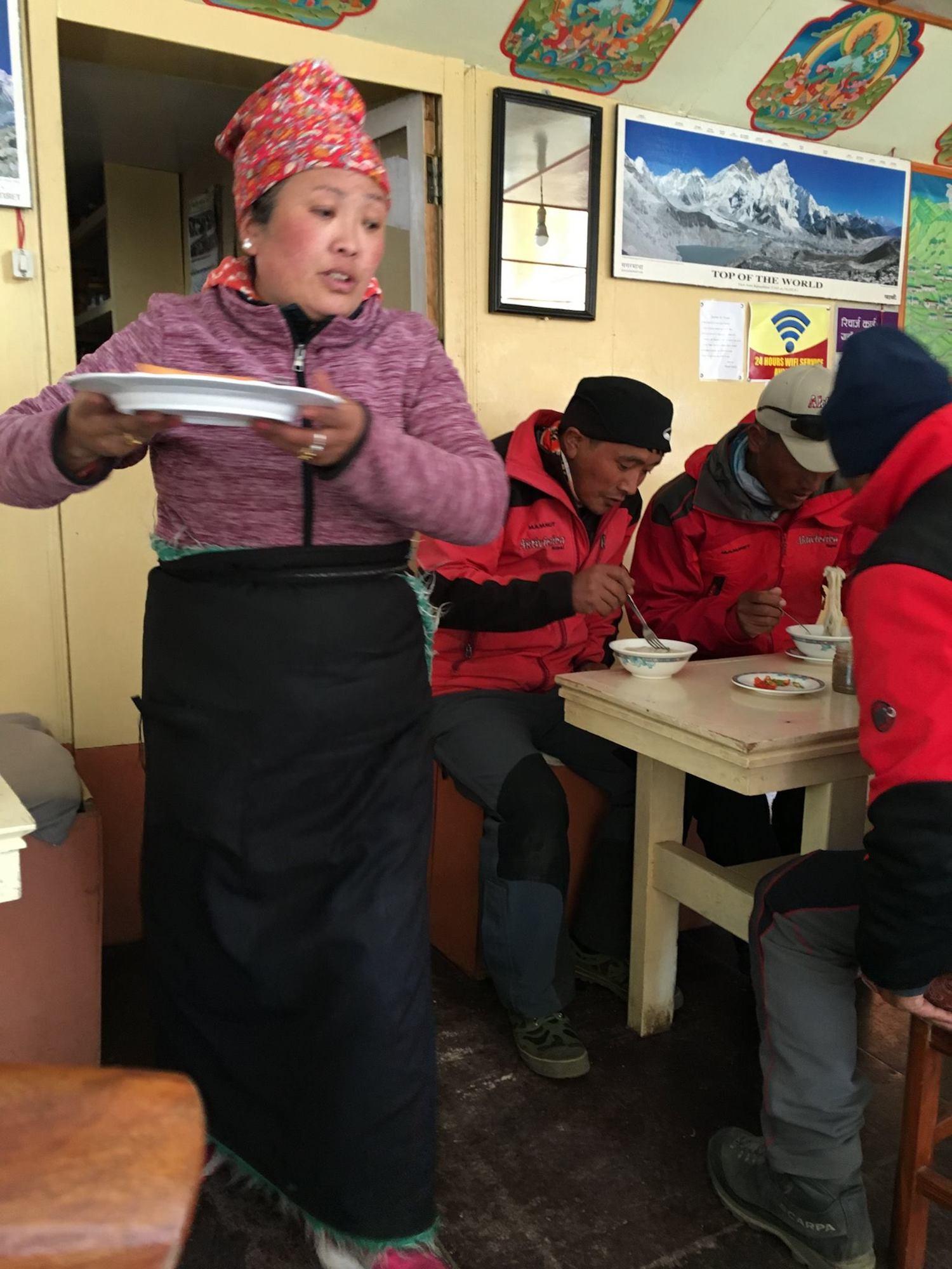 Hora do almoço em uma das teahouses. Foto: Patti Neves