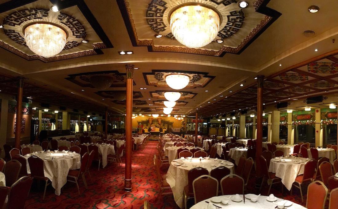 Restaurante Jumbo Kingdom, em Hong Kong. Foto: Patti Neves