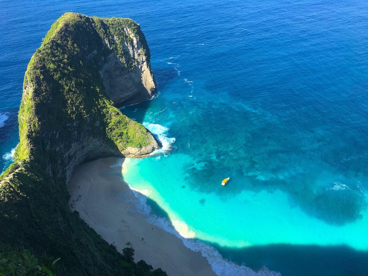 Klingking beach, Nusa Penida. Photo: Patti