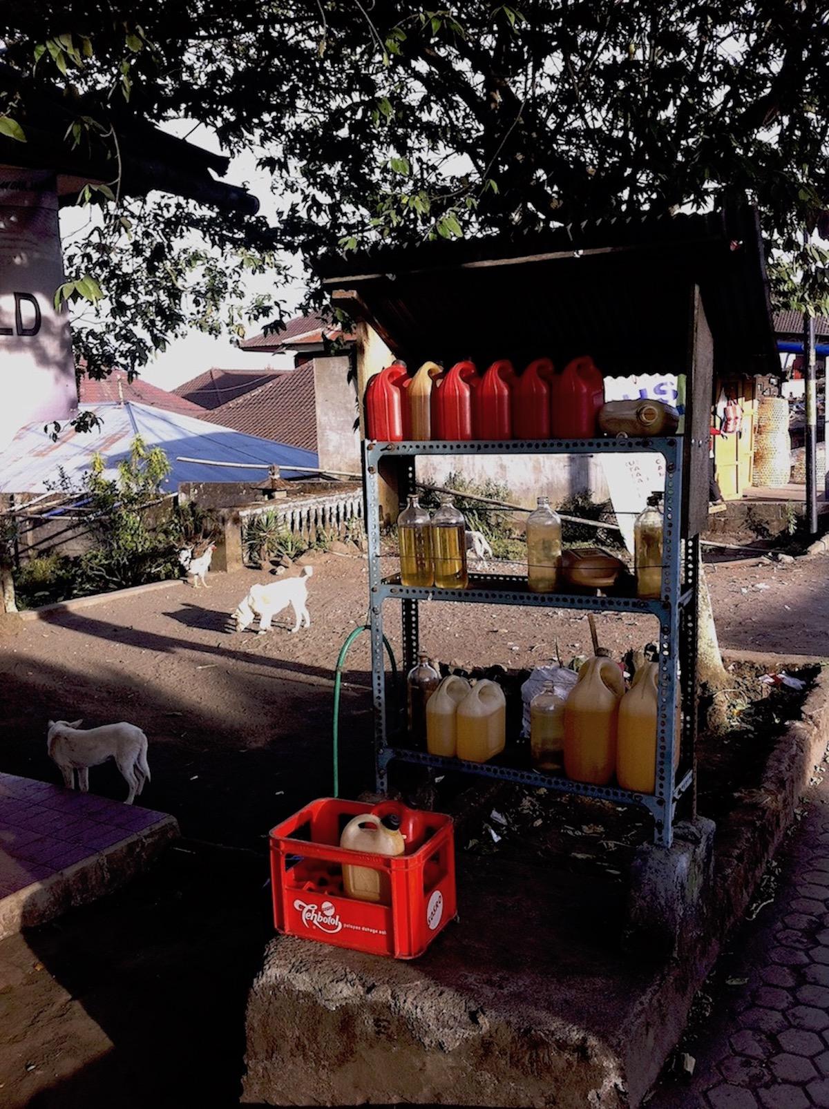 Gas station, Bali. Photo: Patti
