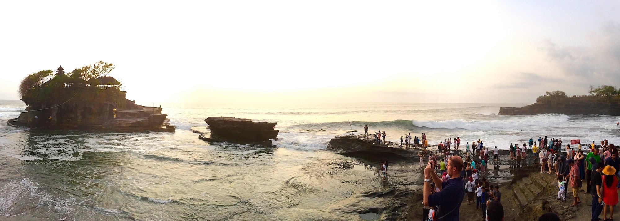 Tanah Lot, Bali. Foto: Patti Neves