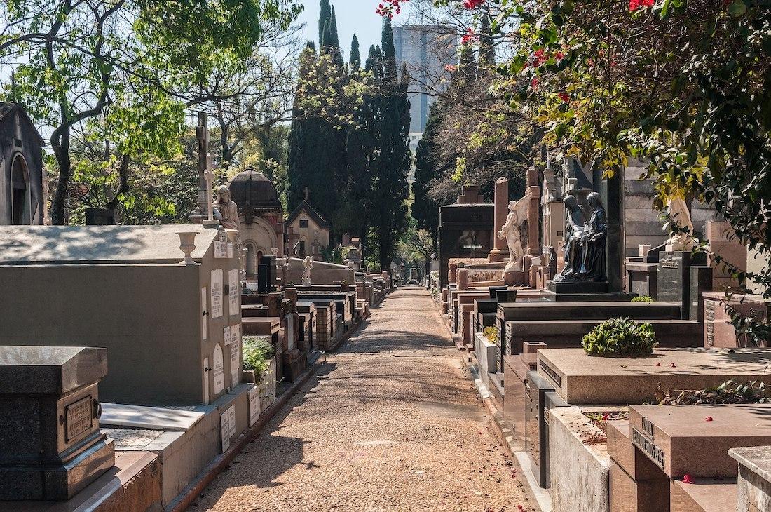 Cemitério da Consolação.