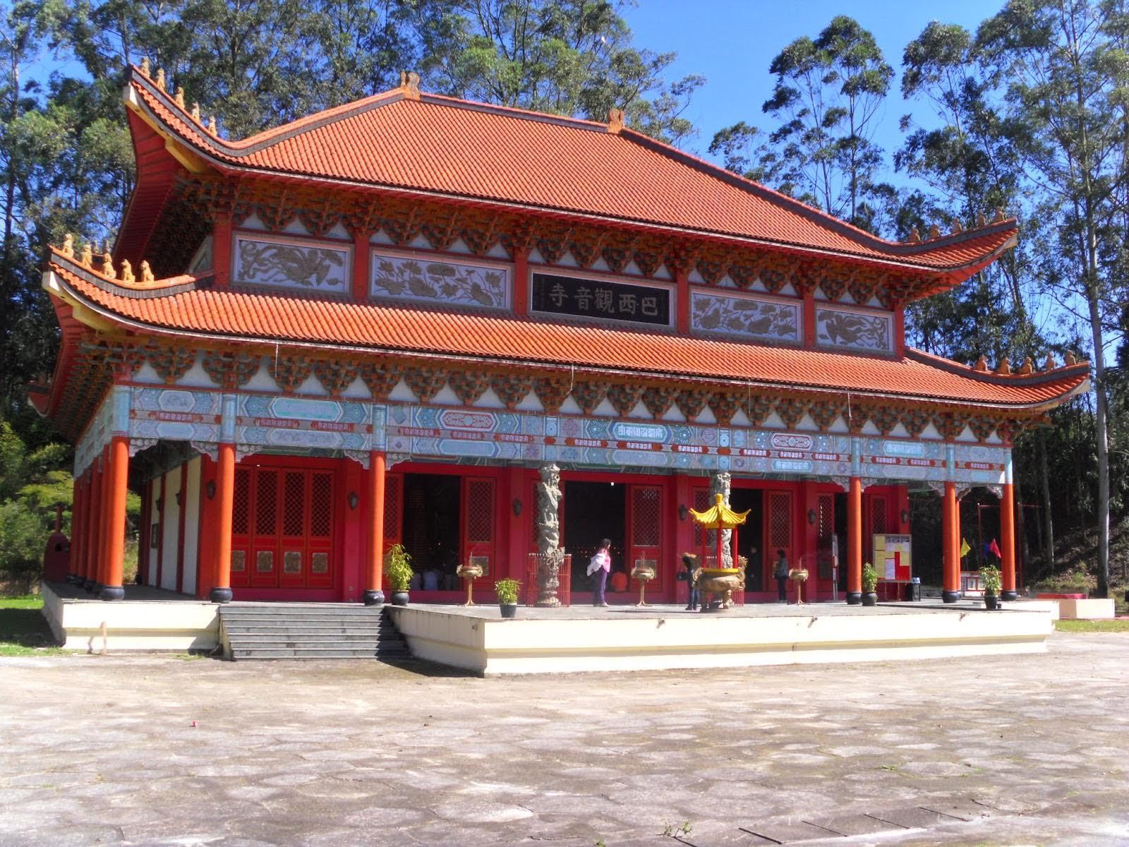 Templo Quan-Inn do Brasil em São Paulo.