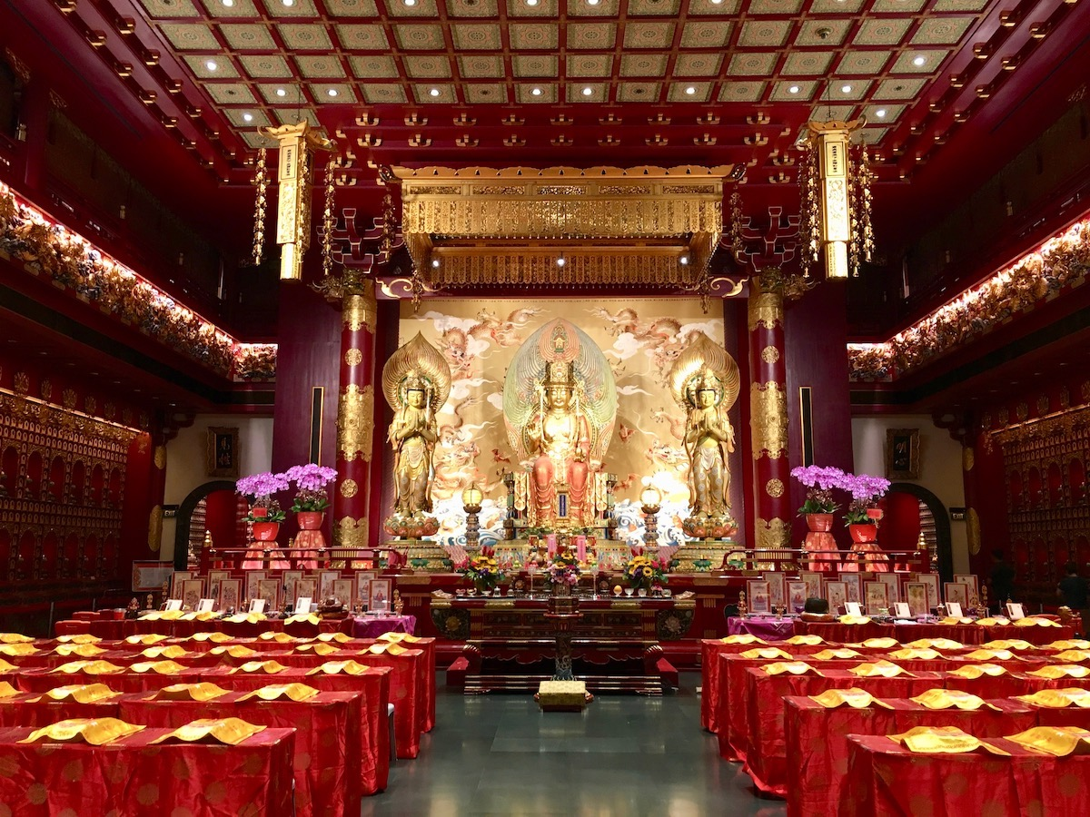 Buddha Tooth Relic Temple. Foto: Patti Neves