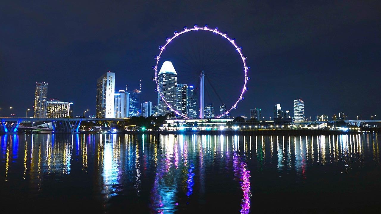 Singapore Flyer, a roda-gigante auspiciosa.