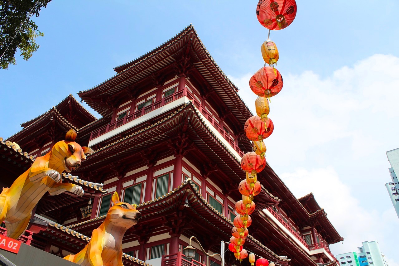 Buddha Tooth Temple, Chinatown