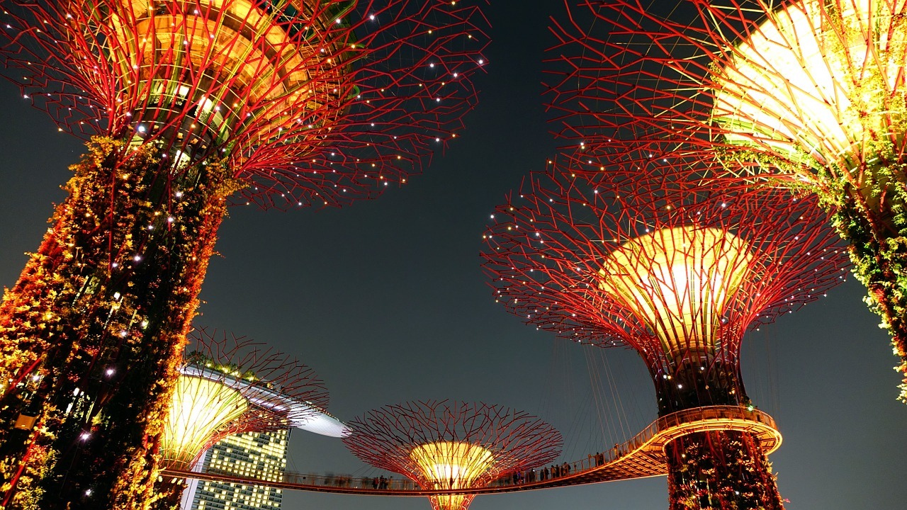 Supertrees, no Gardens by the Bay
