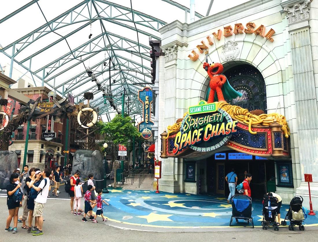 Universal Studios em Singapura. Foto: Patti Neves