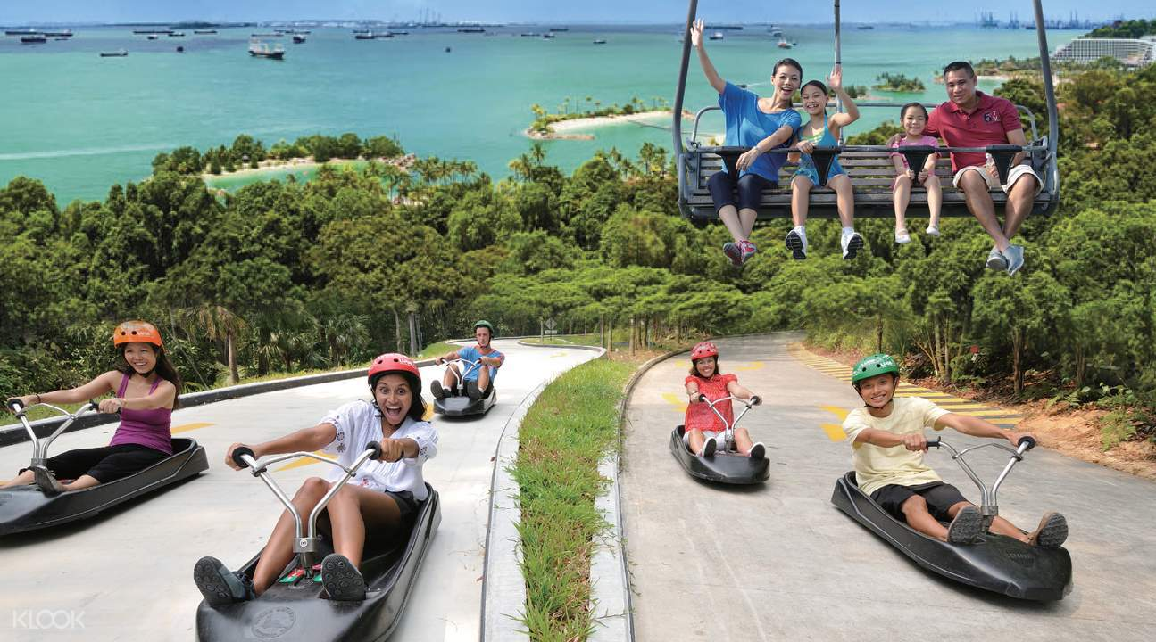 Ilha de Sentosa - Imbiah Lookout