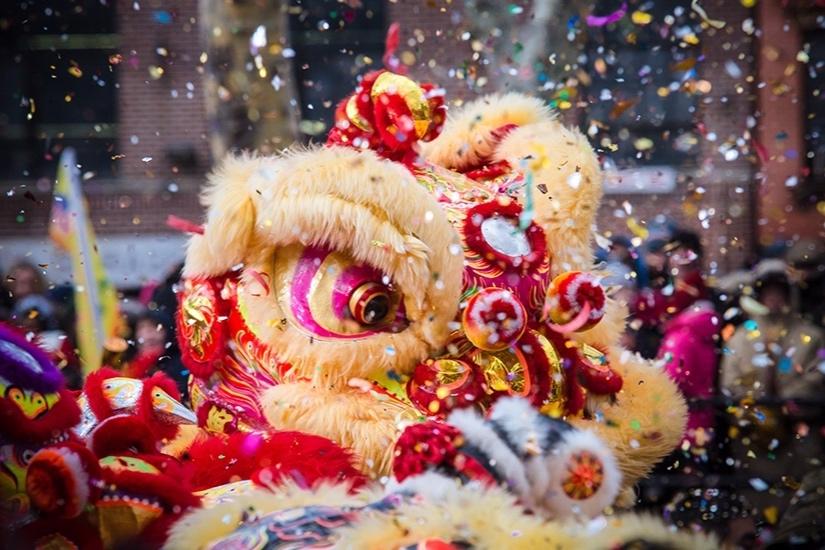 Ano novo chinês em Singapura.