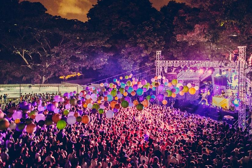 Garden Beats Festival. Foto:  Honeycombers
