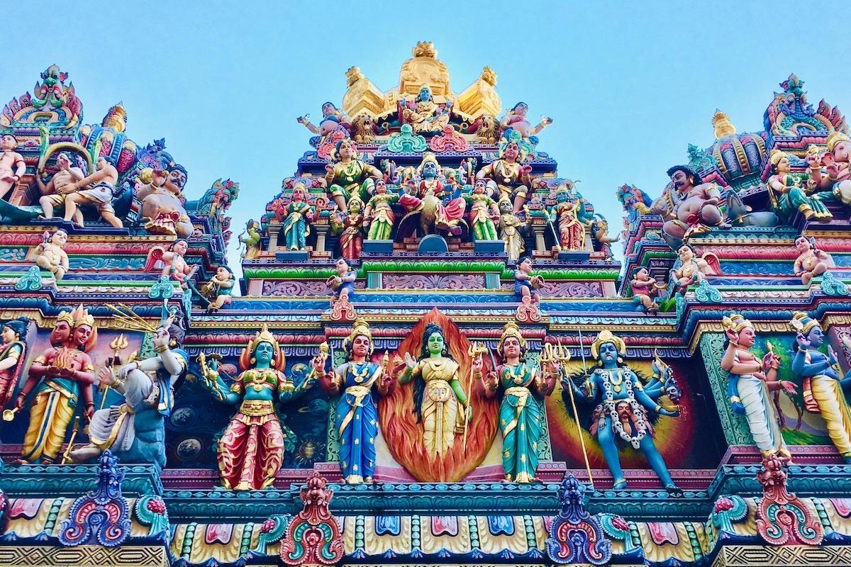 Visita Guiada do Little India - Visita guiada do Little India, o bairro indiano de Singapura. Inclui visita da casa de Tan Teng Niah e templo Sri Veeramakaliamman.