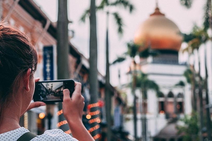 Visita Guiada do Kampong Glam - Visita guiada do Kampong Glam em Português, incluindo a Hajjah Fatma Mosque & Masjid Sultan.