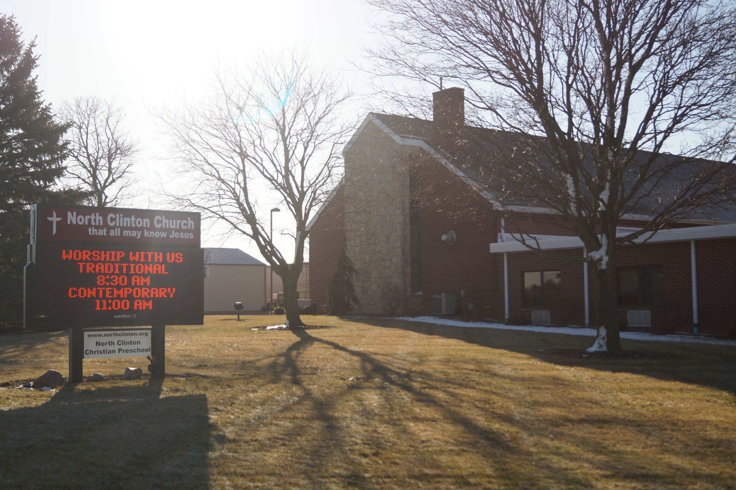 Welcome to North Clinton Church located at 831 W. Linfoot St., Wauseon.
