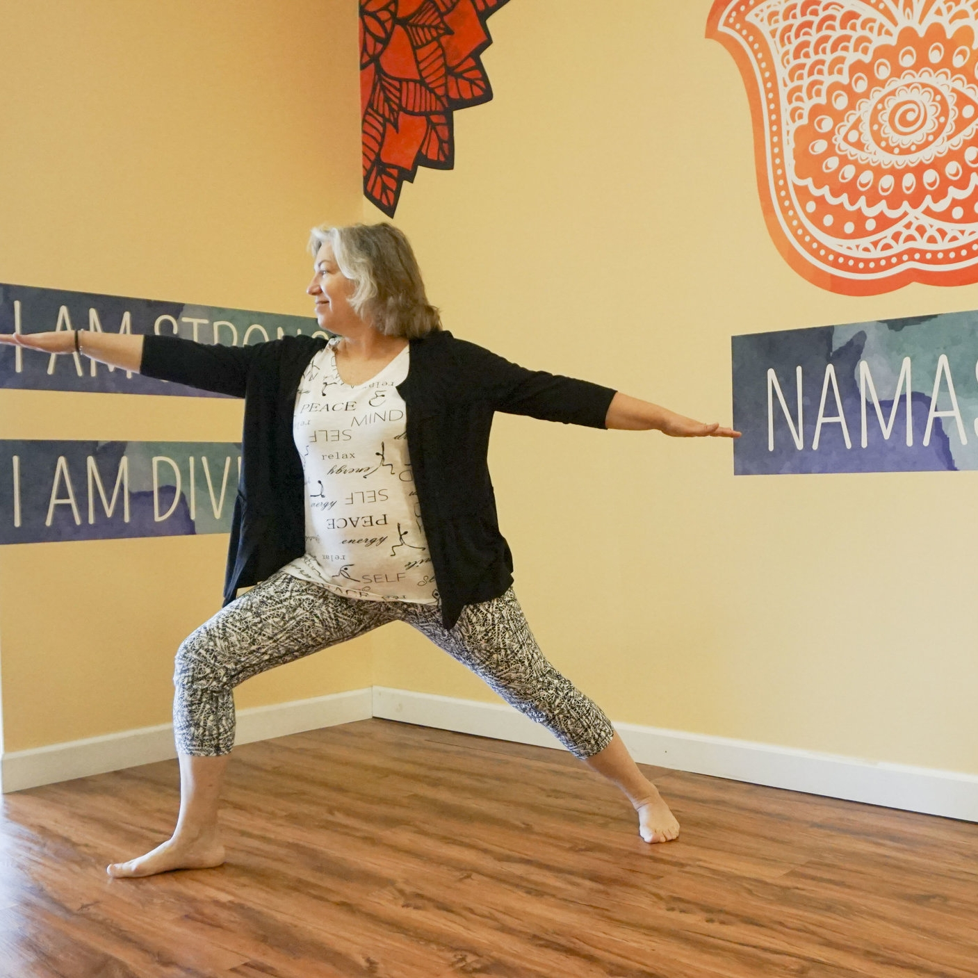 Foundational  Explore and refine your practice through awareness of alignment and breath. Click to read more!