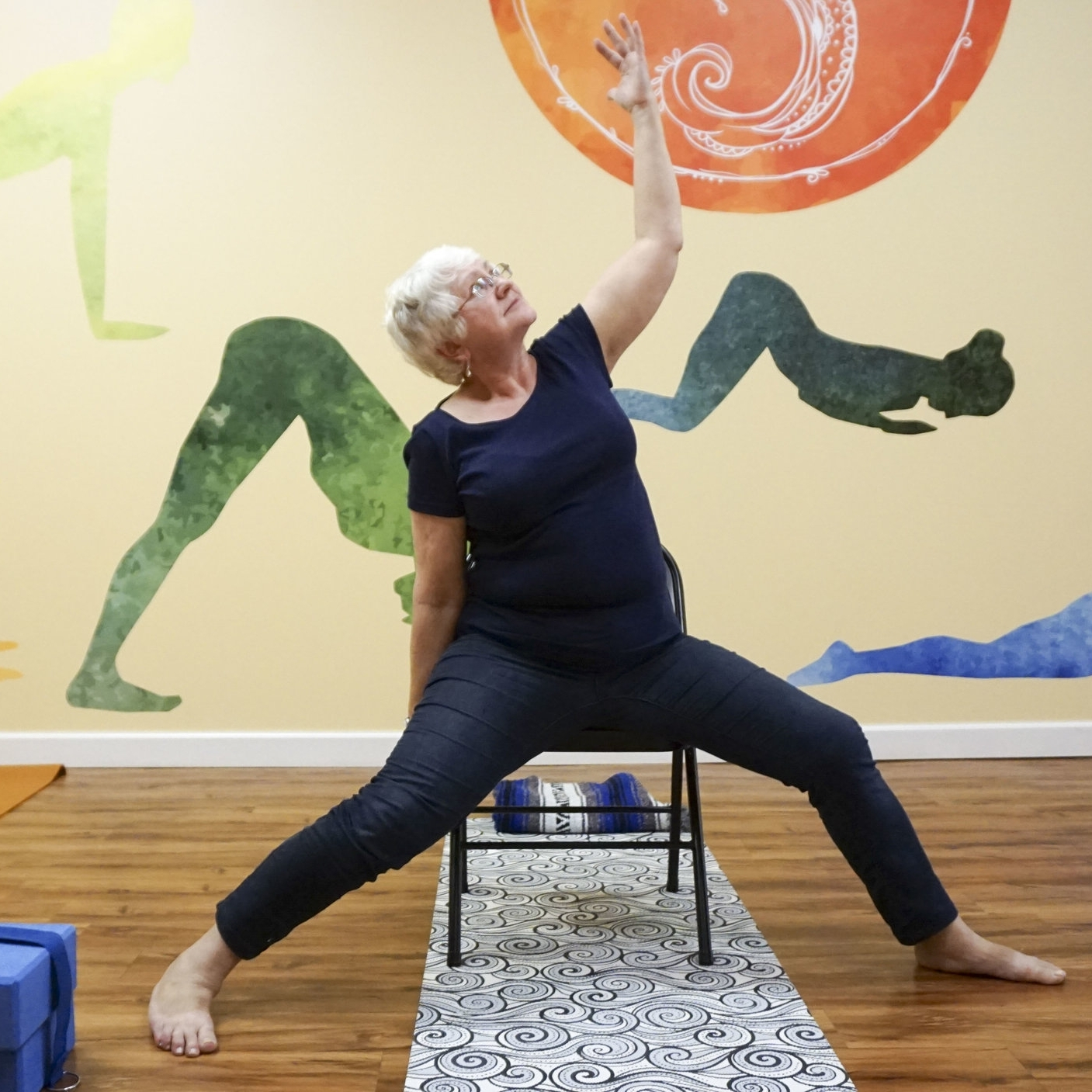 Chair Yoga  For those who need modifications to fit their specific needs. Click to read more!