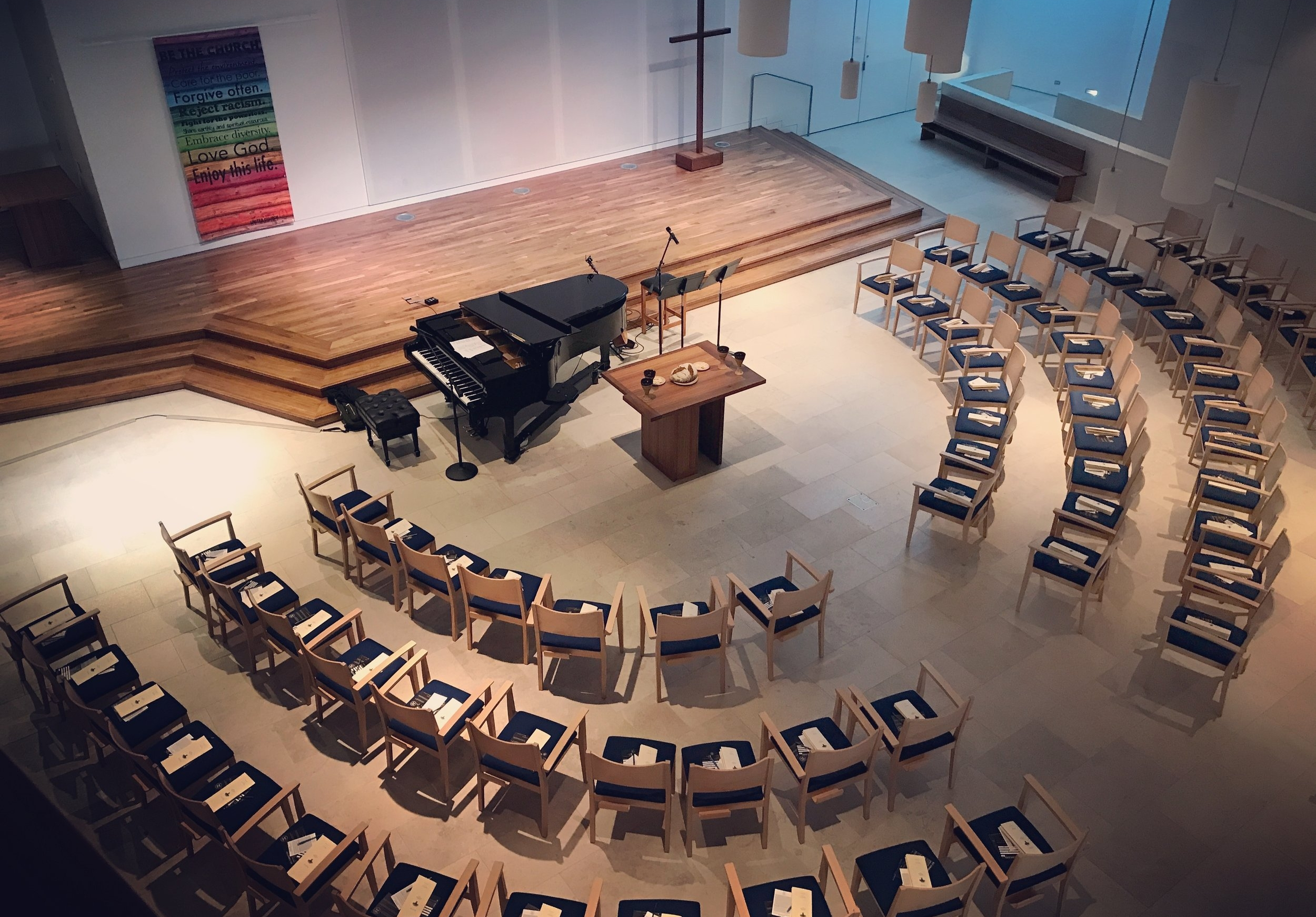 Additional Gatherings - Would you like to stretch your church or community and invite them into a new kind of worship experience? I'd love to offer a practice-based, liturgical-modern, experimental gathering based on the lessons we learned as The Practice Community over the last four years. This often works best as an evening worship service, but can happen on Sunday mornings also.