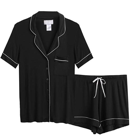 2019-03-05 12_54_14-AChili Women's Pajamas Short Set Loungewear Short Sleeve Sleepwear Button-Down P.png