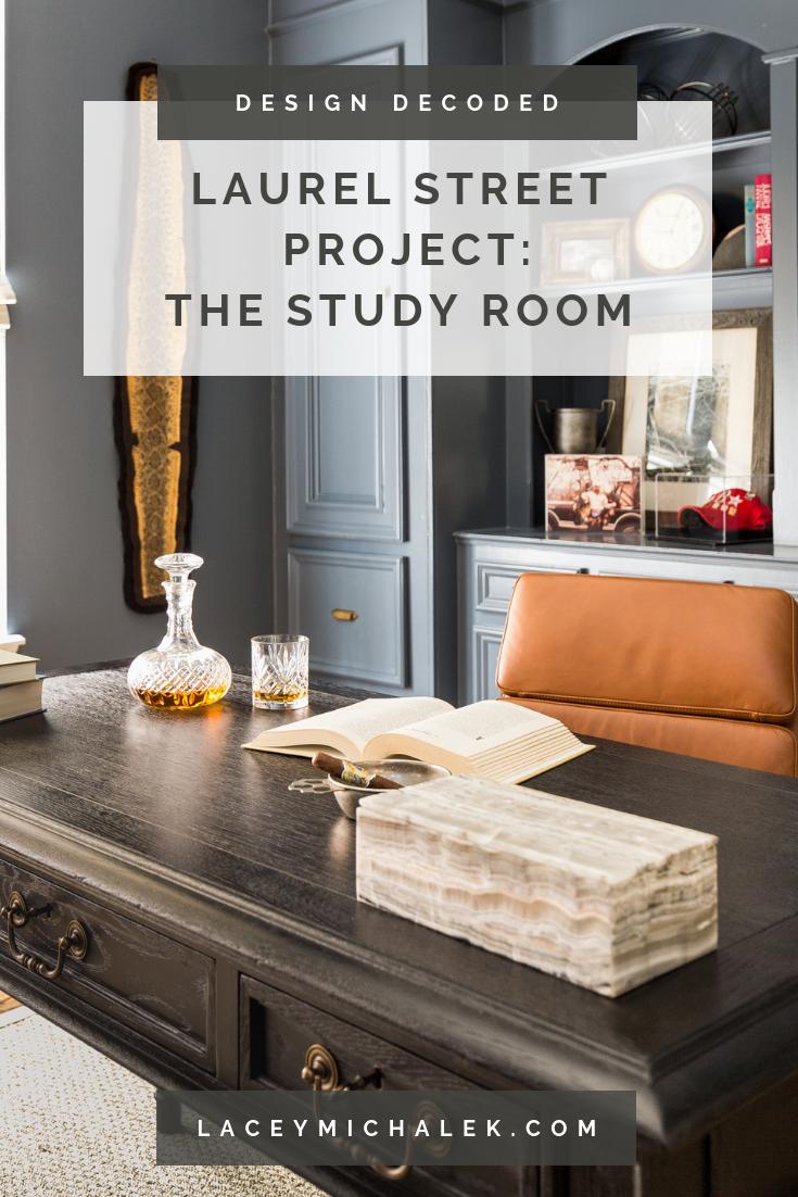 Laurel Street Project: The Study Room