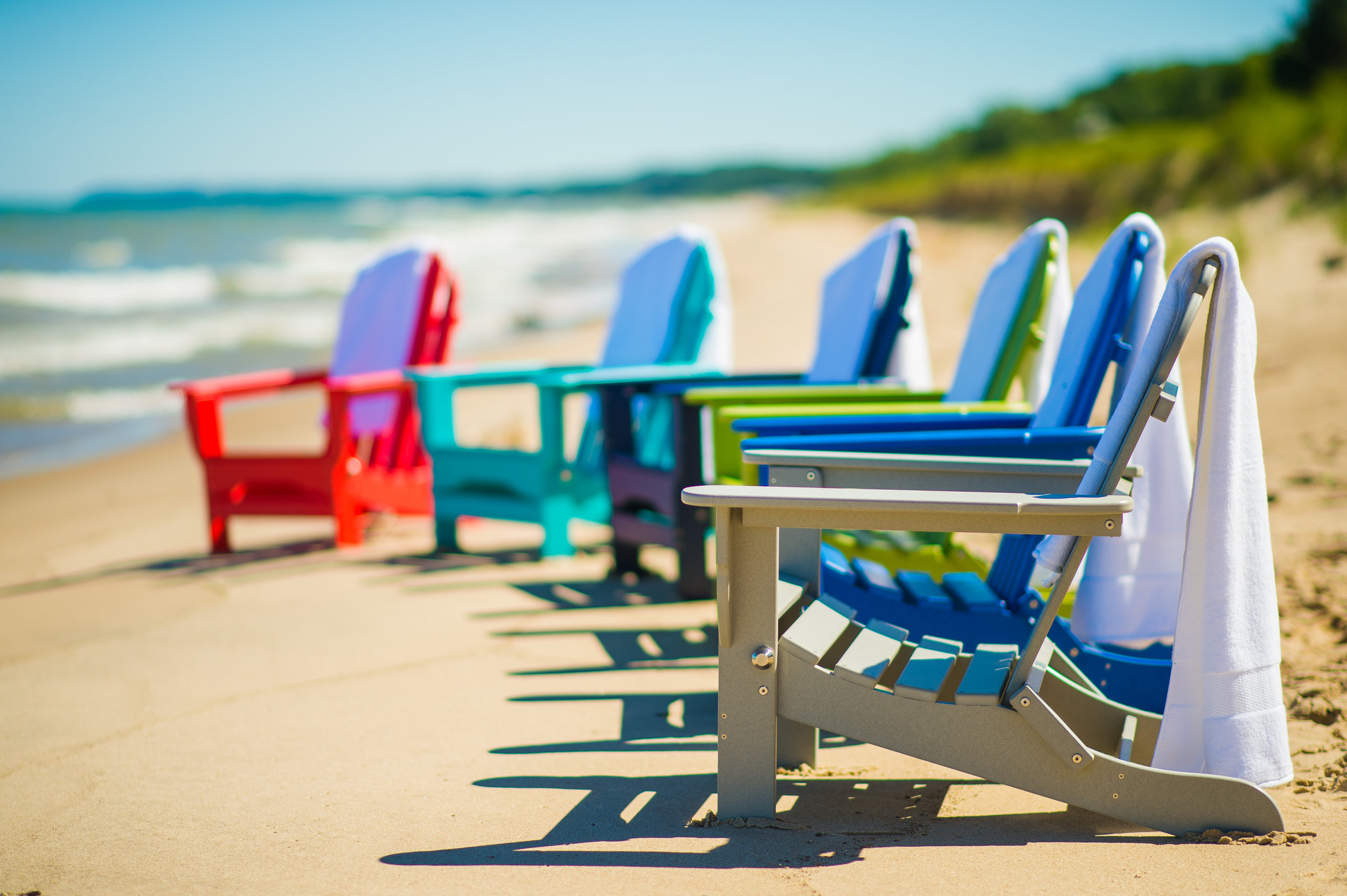 Icon - Capture the beauty of life's moments by enjoying them together in a DuroGreen® Icon Collection Adirondack Chair. Our Adirondack chair strikes the perfect balance of strength and style.Style, shown in our attention to every detail. Our chairs are beautiful, streamlined, and thoughtful. Countless hours of testing and finely-tuned modifications have gone into each of our designs.Strength, demonstrated in the quality of our materials. We use premium recycled HDPE lumber, stainless steel hardware, and quality craftsmanship. Our Icon Collection Adirondack chairs can stand up to changing seasons and extreme outdoor elements. You won't have to worry about warping, rotting, cracking, chipping, or splintering anymore. Our recycled material is resistant to the elements that destroy traditional wood designs.