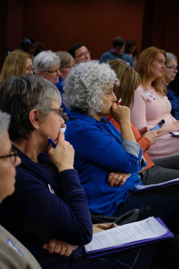 Audience participants.