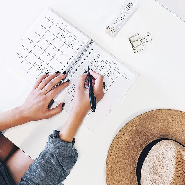 We're using the long weekend to reset and plan out our next moves ✔️✔️How are you investing in your personal and professional growth?