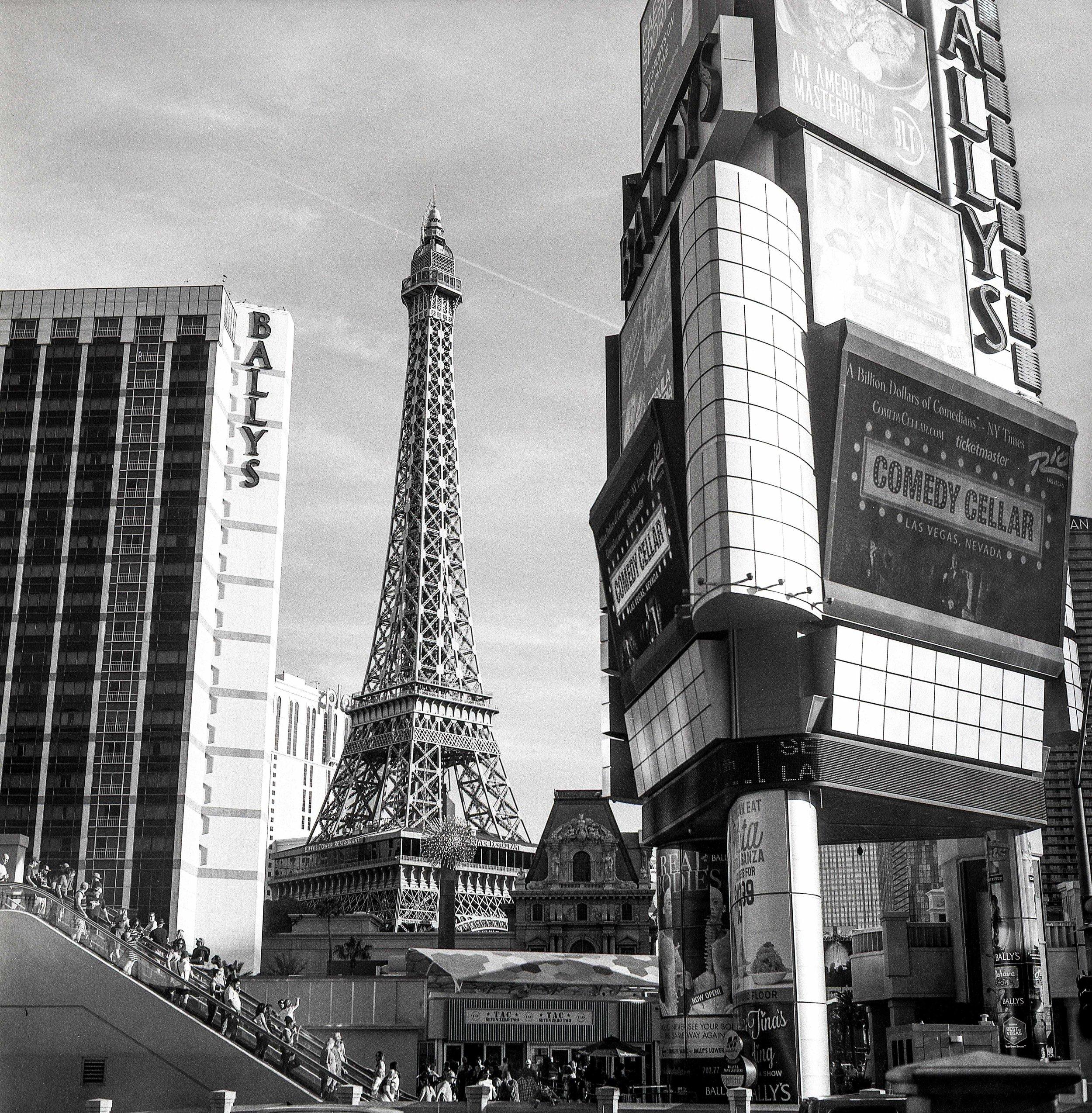 A scene in the Vegas Strip, Las Vegas | 2019