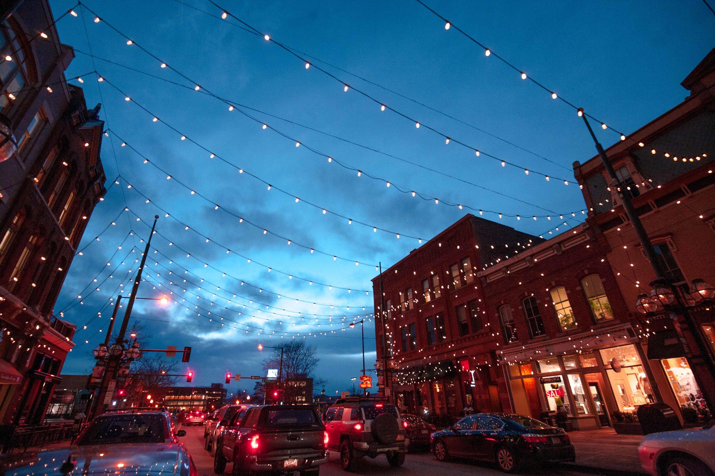 Larimer St in downtown Denver - 2017
