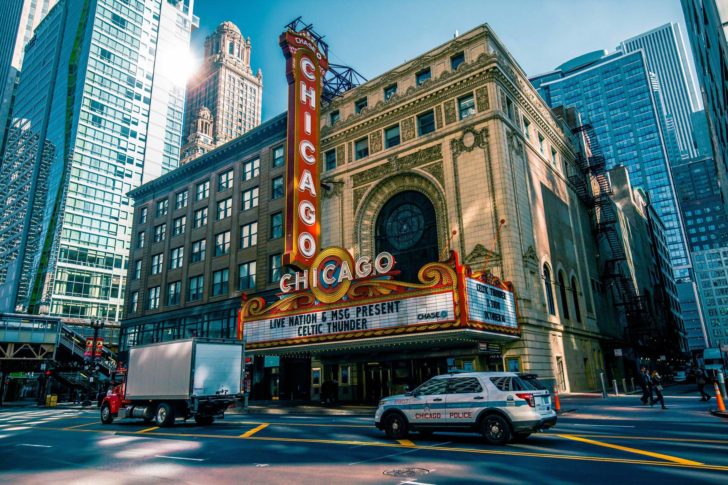 Chicago Theatre - 2018